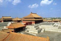 Beijing China travel: Bird's Eye View of Gu Gong, (Forbidden City)