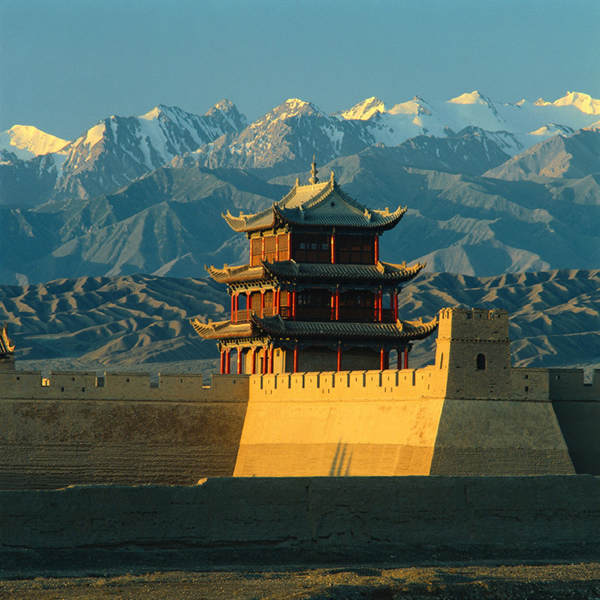 The Great Wall of China location: Jia-yu Pass