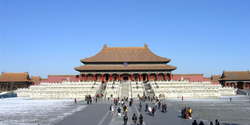 Beijing China travel: Gu Gong, (Forbidden City)
