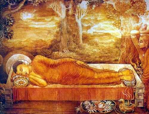 Buddhism Nirvana - Wu Yunqing's unrotten body