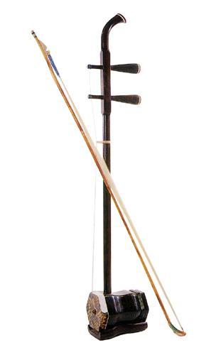 Chinese Musical Instrument: Er-hu.