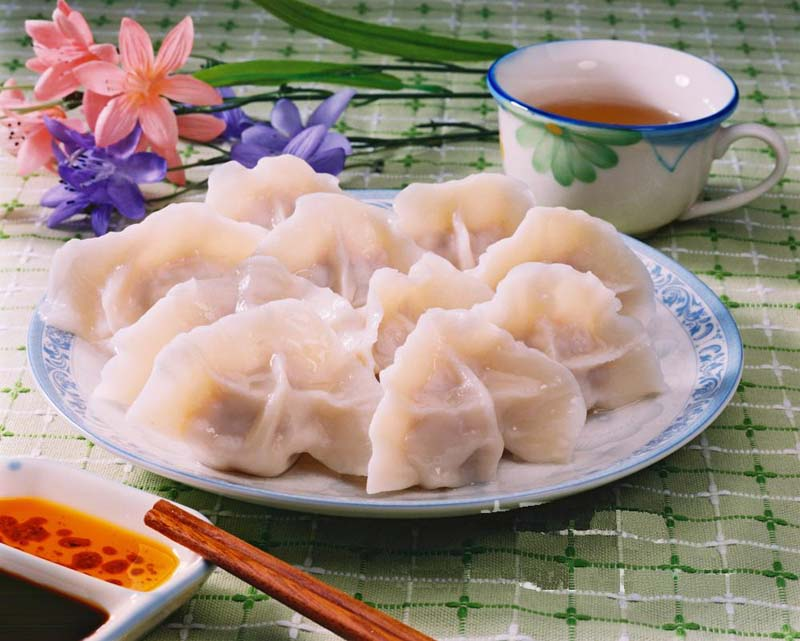Chinese New Year Foods: Jiaozi (Jiao Zi, Dumpling)
