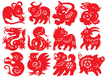 Chinese New Year symbols - Rat papercut