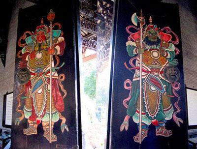 Chinese New Year symbols - Gate Deities