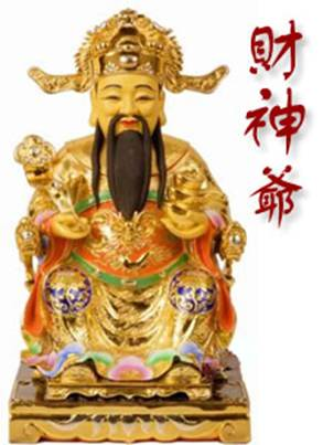 Chinese New Year symbols - God of Wealth