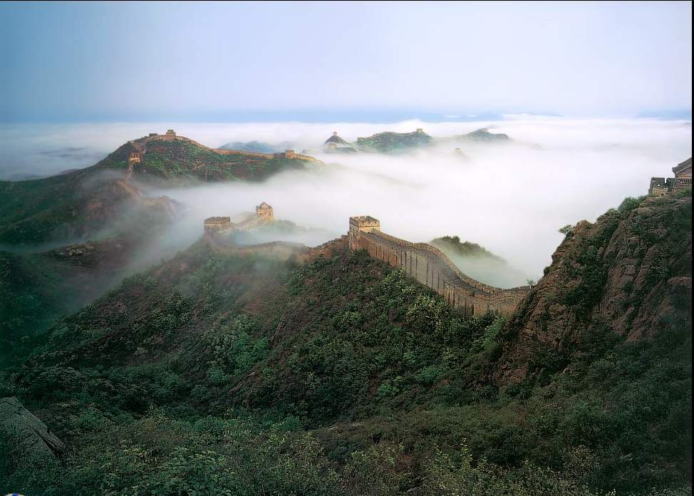 The Great Wall Of China Location Map Facts And Photos