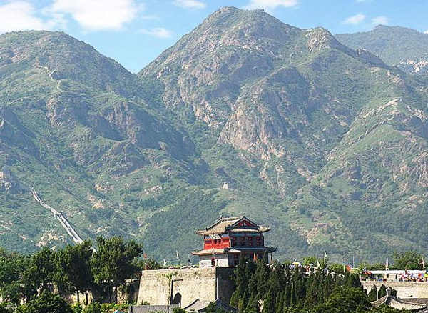 The Great Wall of China. Location: Shan-hai Pass