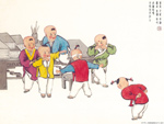 Chinese painting: kids 2