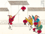 Chinese painting: kids 4
