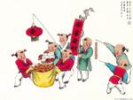 Chinese painting: kids 5