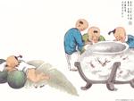 Chinese painting: kids 7