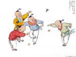 Chinese painting: kids 8