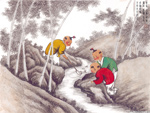 Chinese painting: kids 9