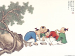Chinese painting: kids 10