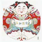 traditional Chinese New Year graphics: full of friendliness. (Ò»ÍźÍÆø£©