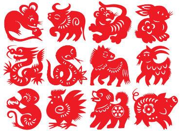 Chinese New Year symbols - Rat papercut